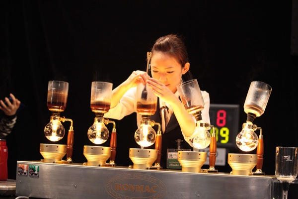 siphon koffie